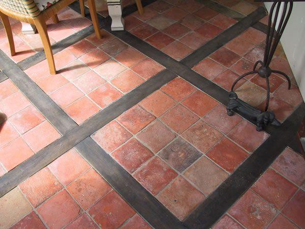 Reclaimed French Terracotta 6x6 Square Floor Bg Jpg